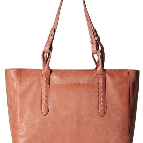 Frye Handbags - FRYE Reed Zip Leather Tote